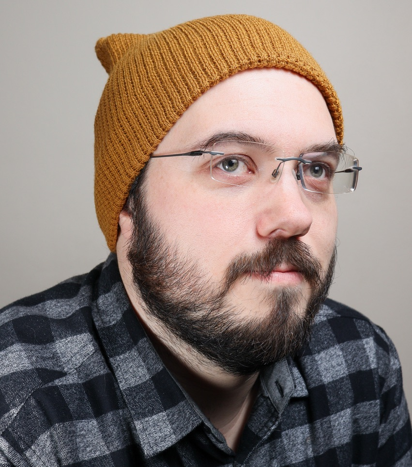 Photo of Patrick, who once had business cards that said he was a wizard.