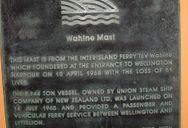 The Wahine Mast