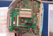 Inside an iMac