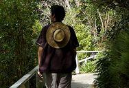 Sean, walking