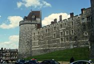 Side wall of Windsor Castle