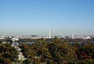 View from Arlington House over Washington D.C.
