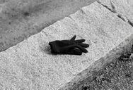 Abandoned glove.